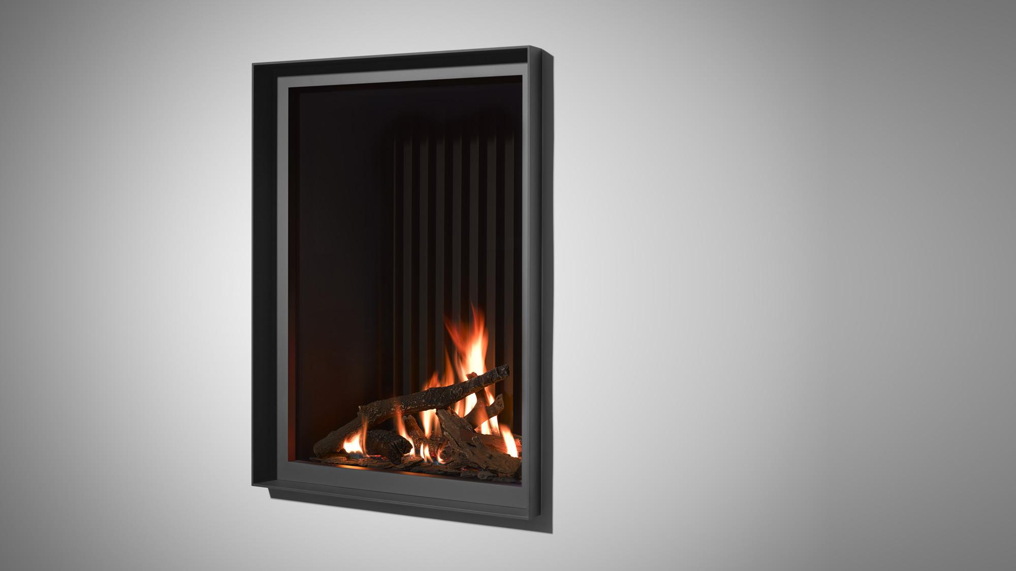 gas inset fire tulp st v b 60 pb st v. Black Bedroom Furniture Sets. Home Design Ideas