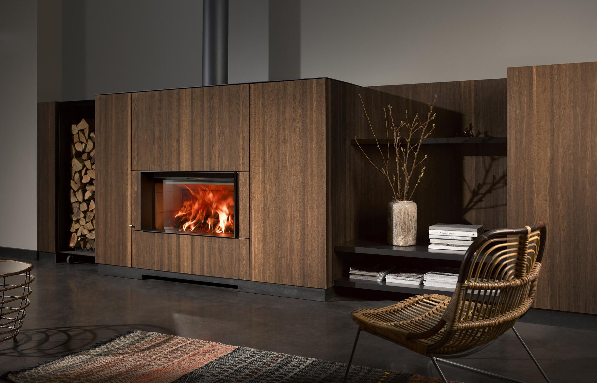 Fabuleux insert cheminée bois stuv 22 |Stûv ZM88
