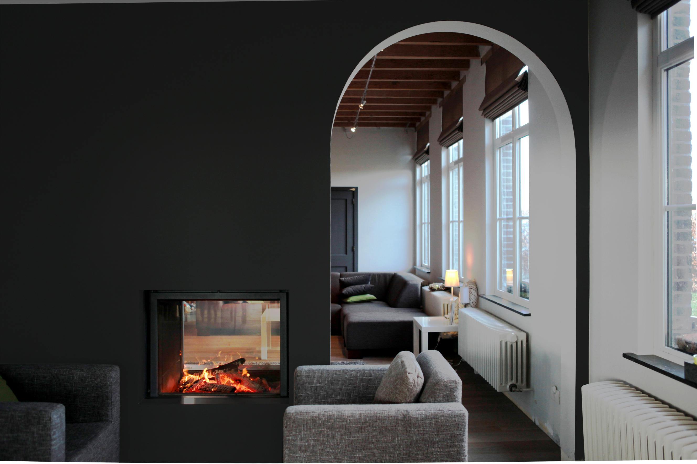 St v 21 85 df - Cheminee double foyer ...